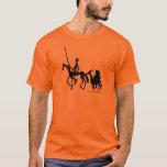 Grafikt-skjorta för universitetslärare Quixote och T Shirts