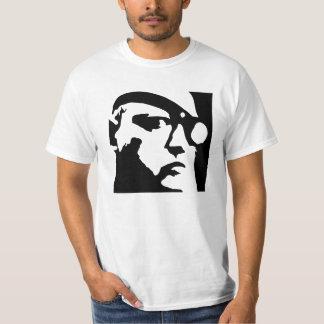 Grafisk ansiktemanar skjorta för utslagsplats tröjor