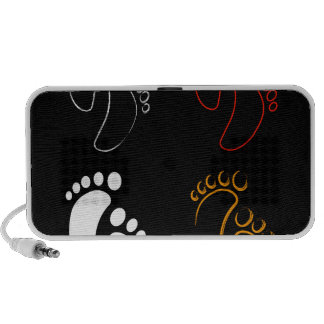 Grafisk baby shower notebook högtalare