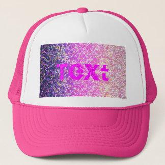 Grafisk bakgrund för hattglitter keps