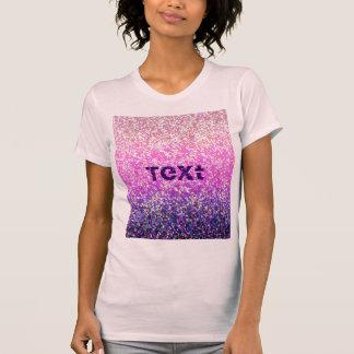 Grafisk bakgrund för T-tröjaglitter Tee Shirt