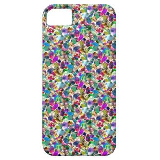 Grafisk Bling för regnbågejuvelRhinestone iphone iPhone 5 Case-Mate Skydd