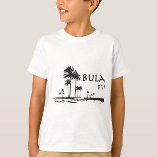 Grafisk Bula fijiansk palmträd T-shirts