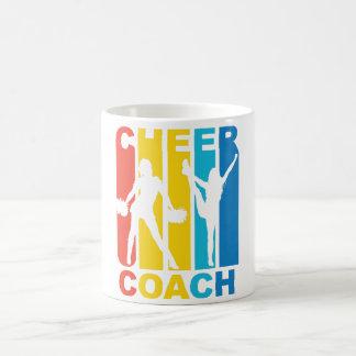 Grafisk Cheerleading för vintagejubellagledare Vit Mugg