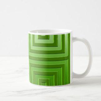Grafisk design för klassikerMugg i grönt Vit Mugg