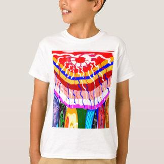 Grafisk design för solsken tröja
