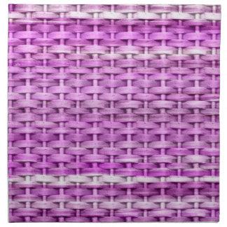 Grafisk design för violett målninggnäggandekonst tygservett