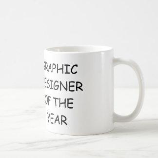 Grafisk formgivare av året kaffemugg