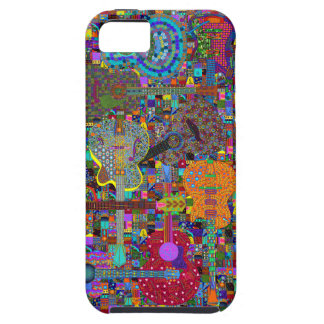 Grafisk gitarrdesign iPhone 5 Case-Mate skydd