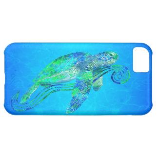 Grafisk havssköldpadda iPhone 5C fodral