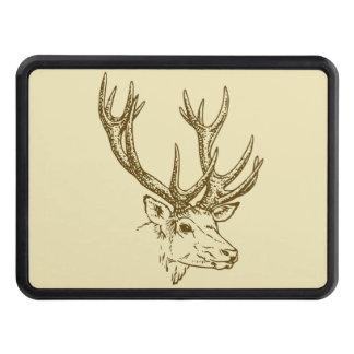 Grafisk Head illustration för hjort Bilkroksskydd