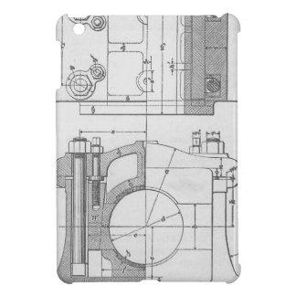 Grafisk industriell mekaniker för vintage iPad mini skal