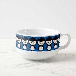 Grafisk Kopp för Soppa för pingvin