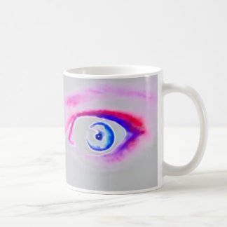 Grafisk ögamugg kaffemugg