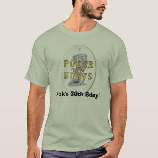 grafisk poker, Nicks 30th Bday! Tee Shirts