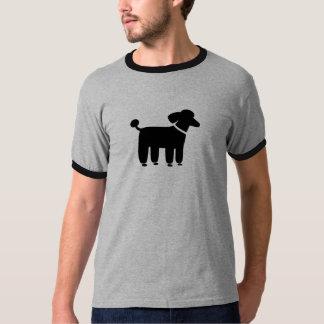 Grafisk pudel (svarten) tee shirt