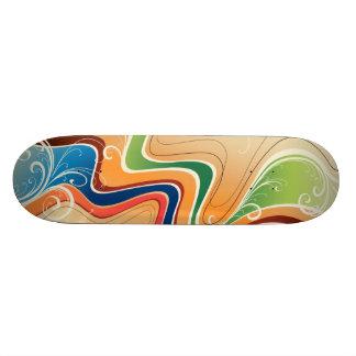 Grafisk Skateboard för design 19
