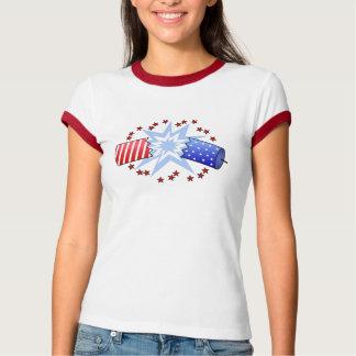 Grafisk T-tröja för smällare