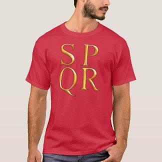 Grafisk T-tröja för SPQR T-shirt