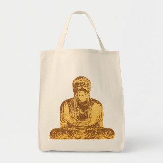 Grafiska Buddha Tygkasse