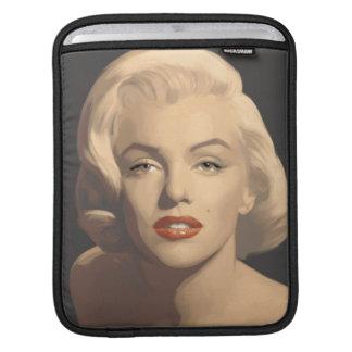 Grafiska gråa Marilyn iPad Sleeve
