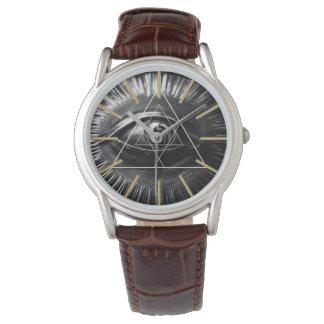 Grafiska Illuminati Armbandsur