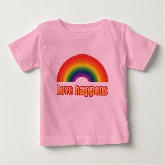 Grafiska utslagsplatser för glad baby - pride tee shirts