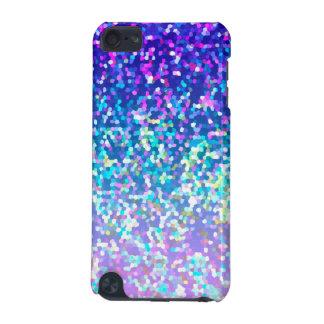 grafiskt glitter för iPod handlag 5g iPod Touch 5G Fodral