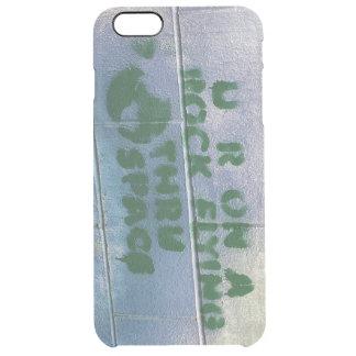 Grafitti | är du på ett stenflyg till och med clear iPhone 6 plus skal