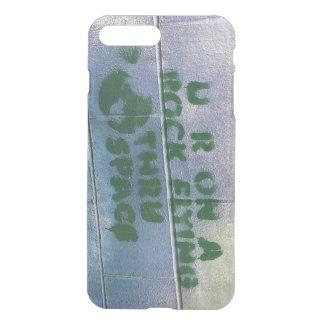 Grafitti | är du på ett stenflyg till och med iPhone 7 plus skal