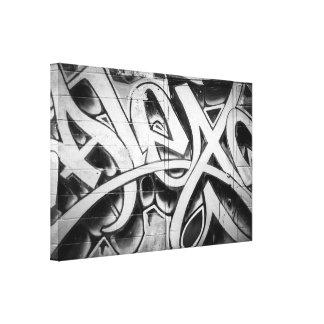 Grafitti (gatakonst) Toronto Canvastryck