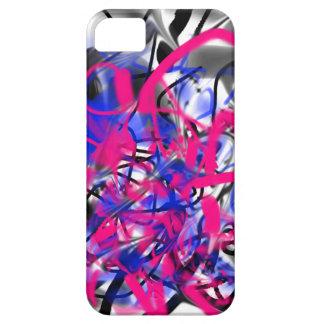 Grafitti knappt där iPhone 5 cases