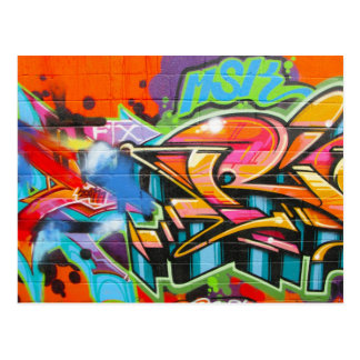Grafitti Vykort