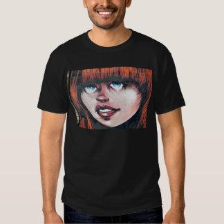 Grafittiflicka T-shirt