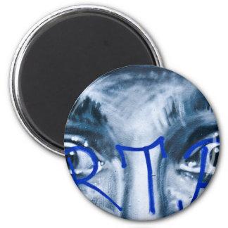Grafittiögon som tittar dig magnet rund 5.7 cm