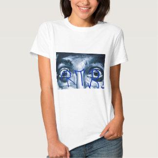 Grafittiögon som tittar dig t-shirts