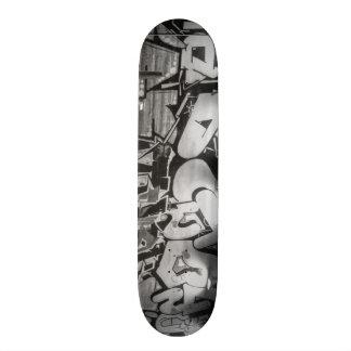Grafittiskridskon stiger ombord mini skateboard bräda 18,5 cm