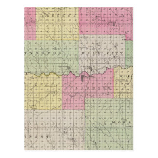 Graham County Kansas Vykort