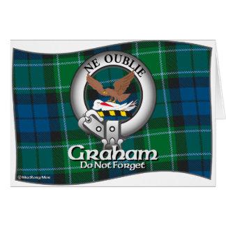 Graham klan hälsningskort