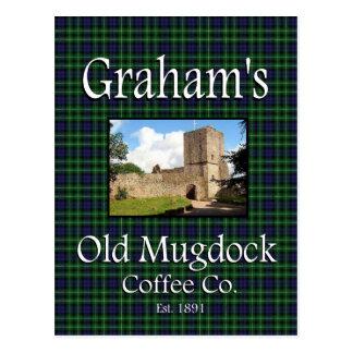 Grahams gammal vykort för Co. för Mugdock kaffe