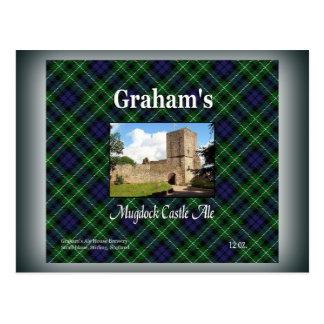 Grahams öl för Mugdock slott Vykort