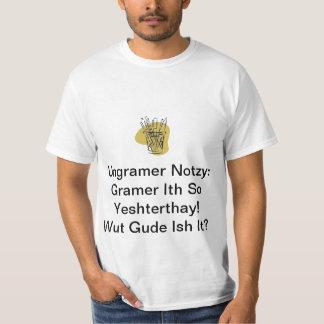Grammatik T-shirts