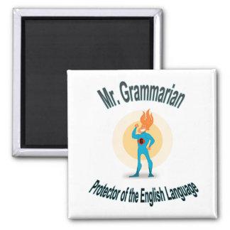 GrammatikfanatikerSuperhero Magnet