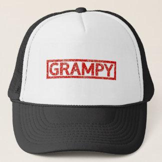 Grampy frimärke truckerkeps