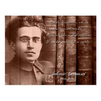 Gramsci - Nada será definitivo Tarjetas Postales
