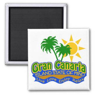 Gran Canaria som är statlig av Mind magneten Magnet