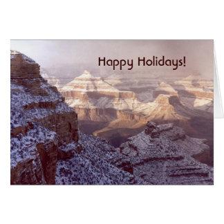 Grand Canyon/glad helg! Hälsningskort