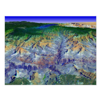 Grand Canyon i 3-D Poster