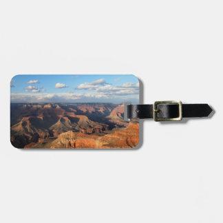 Grand Canyon som ses från södra kant i Arizona Bagagebricka