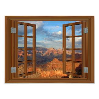 Grand CanyonArizona USA att bedöva beskådar Fototryck